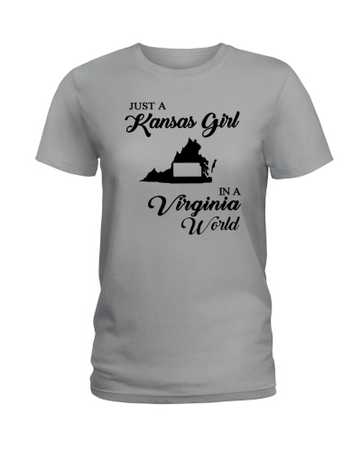JUST A KANSAS GIRL IN A VIRGINIA WORLD