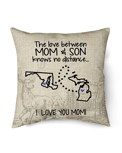 MICHIGAN MARYLAND THE LOVE MOM AND SON