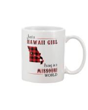HAWAII GIRL LIVING IN MISSOURI WORLD Mug thumbnail