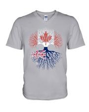 LIVE IN CANADA AUSTRALIAN ROOTS V-Neck T-Shirt thumbnail