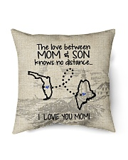 """MAINE FLORIDA THE LOVE MOM AND SON Indoor Pillow - 16"""" x 16"""" back"""