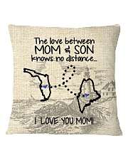 MAINE FLORIDA THE LOVE MOM AND SON Square Pillowcase thumbnail