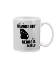 JUST A HAWAII GUY IN A GEORGIA WORLD Mug thumbnail