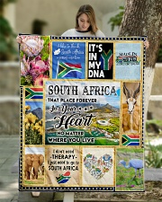 "SOUTH AFRICA IT'S IN MY DNA Quilt 50""x60"" - Throw aos-quilt-50x60-lifestyle-front-01"