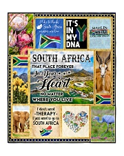 "SOUTH AFRICA IT'S IN MY DNA Quilt 50""x60"" - Throw front"