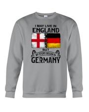 LIVE IN ENGLAND BEGAN IN GERMANY Crewneck Sweatshirt thumbnail