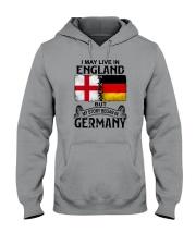 LIVE IN ENGLAND BEGAN IN GERMANY Hooded Sweatshirt thumbnail