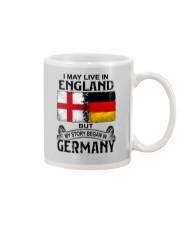 LIVE IN ENGLAND BEGAN IN GERMANY Mug thumbnail
