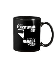 JUST A PENNSYLVANIA GUY LIVING IN NEVADA WORLD Mug thumbnail