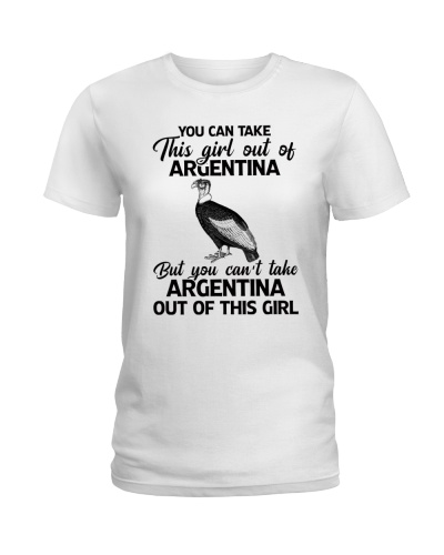 YOU CAN'T TAKE ARGENTINA OUT OF THIS GIRL