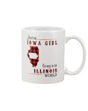 IOWA GIRL LIVING IN ILLINOIS WORLD Mug thumbnail