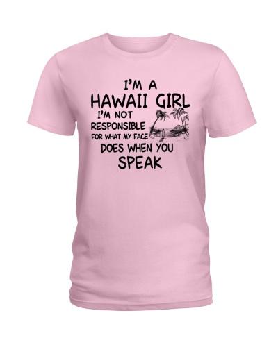 HAWAII GIRL I'M NOT RESPONSIBLE