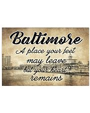 BALTIMORE A PLACE YOUR HEART REMAINS 24x16 Poster front