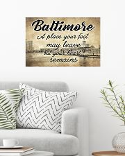 BALTIMORE A PLACE YOUR HEART REMAINS 24x16 Poster poster-landscape-24x16-lifestyle-01