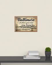 BALTIMORE A PLACE YOUR HEART REMAINS 24x16 Poster poster-landscape-24x16-lifestyle-09