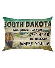 SOUTH DAKOTA THAT PLACE FOREVER IN YOUR HEART Rectangular Pillowcase thumbnail