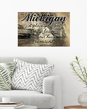 MICHIGAN A PLACE YOUR HEART REMAINS 24x16 Poster poster-landscape-24x16-lifestyle-01