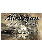 MICHIGAN A PLACE YOUR HEART REMAINS Horizontal Poster tile