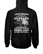 AWESOME SPOILED HAWAII LADY Hooded Sweatshirt thumbnail