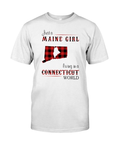 MAINE GIRL LIVING IN CONNECTICUT WORLD