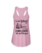 I'M NOT YELLING I'M FROM CHICAGO Ladies Flowy Tank thumbnail