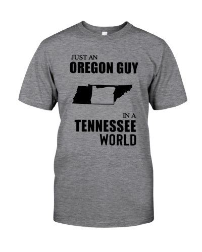 JUST AN OREGON GUY IN A TENNESSEE WORLD