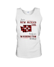 NEW MEXICO GIRL LIVING IN WASHINGTON WORLD Unisex Tank thumbnail