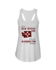 NEW MEXICO GIRL LIVING IN WASHINGTON WORLD Ladies Flowy Tank thumbnail