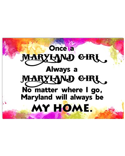 MARYLAND WILL ALWAYS BE MY HOME