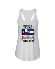 LIVE IN TEXAS BEGAN IN HONDURAS Ladies Flowy Tank thumbnail