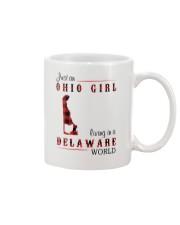 OHIO GIRL LIVING IN DELAWARE WORLD Mug thumbnail