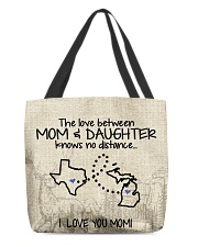 MICHIGAN TEXAS THE LOVE MOM AND DAUGHTER All-over Tote thumbnail