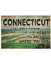 CONNECTICUT THAT PLACE FOREVER IN YOUR HEART 17x11 Poster front