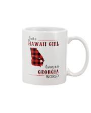 HAWAII GIRL LIVING IN GEORGIA WORLD Mug thumbnail
