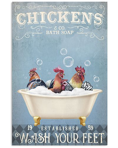 CHICKENS BATH SOAP