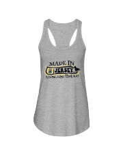 MADE IN JERSEY A LONG LONG TIME AGO Ladies Flowy Tank tile
