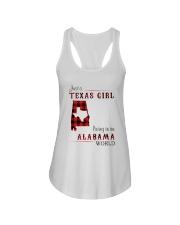 TEXAS GIRL LIVING IN ALABAMA WORLD Ladies Flowy Tank thumbnail