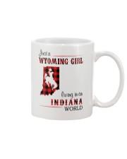 WYOMING GIRL LIVING IN INDIANA WORLD Mug thumbnail