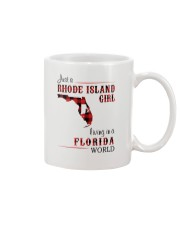 RHODE ISLAND GIRL LIVING IN FLORIDA WORLD Mug thumbnail