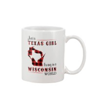 TEXAS GIRL LIVING IN WISCONSIN WORLD Mug thumbnail