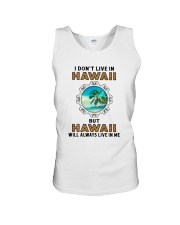 HAWAII WILL ALWAYS LIVE IN ME Unisex Tank thumbnail