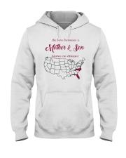 NORTH CAROLINA FLORIDA THE LOVE MOTHER AND SON  Hooded Sweatshirt thumbnail