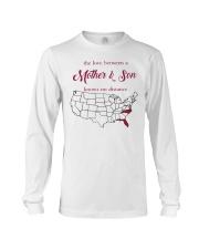 NORTH CAROLINA FLORIDA THE LOVE MOTHER AND SON  Long Sleeve Tee thumbnail