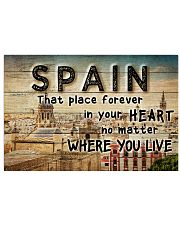 SPAIN THAT PLACE FOREVER IN YOUR HEART 24x16 Poster front