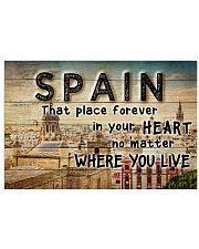 SPAIN THAT PLACE FOREVER IN YOUR HEART Horizontal Poster tile