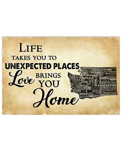 WASHINGTON LOVE BRINGS YOU HOME