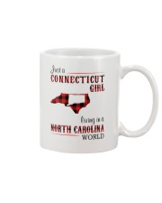 CONNECTICUT GIRL LIVING IN NORTH CAROLINA WORLD Mug thumbnail