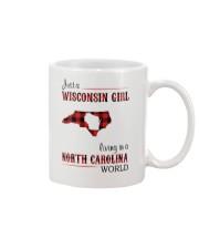 WISCONSIN GIRL LIVING IN NC WORLD Mug thumbnail