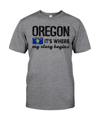 OREGON IT'S WHERE MY STORY BEGINS
