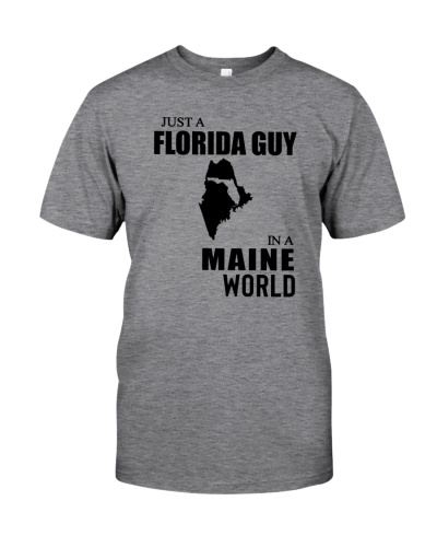 JUST A FLORIDA GUY IN A MAINE WORLD
